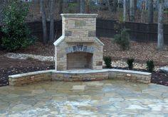 Atlanta-Hardscape-Fireplaces by ARNOLD Masonry and Concrete, via Flickr