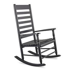 Black Traditional Classic Porch Rocker Rocking Chair Outdoor Patio Garden Furniture * You can find more details by visiting the image link. (This is an affiliate link) #OutdoorFurniture