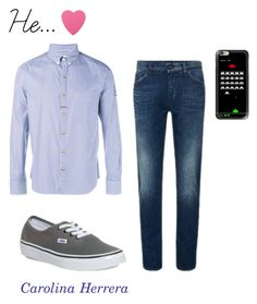 """He..."" by carolina-herrera09 on Polyvore featuring Moncler Gamme Bleu, Vans, Sephora Collection, Casetify, women's clothing, women's fashion, women, female, woman and misses"