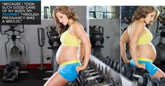 How To Stay Fit When You're Pregnant... might come in handy one day