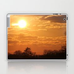 Turbo sunset  Laptop & iPad Skin by Angelika Kimmig - $25.00