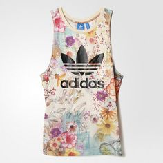 LOOSE TRF TANK Adidas Outfit, Clothing Items, Tank Tops, Stuff To Buy, Shopping, Design, Swag, Style, App