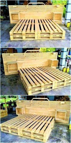 Woodwork Ideas With Pallets