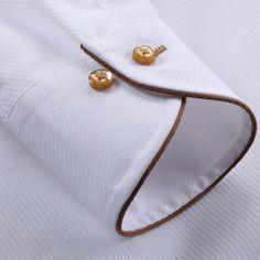 2016 Novo estilo francês macho longo sleev gola 100% algodão slim fit camisa dos homens Vestido de moda camisa tamanho pus