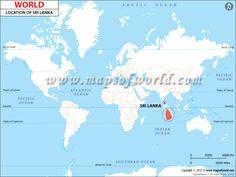 sri lanka mapa - Buscar con Google