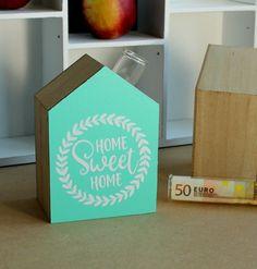 """Deko-Objekte - Geschenk zur Einweihung/Hausbau """"Geld"""" - ein Designerstück von FrlBetty bei DaWanda"""