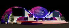 Backdrop design of Qatar Jet Fuel Company 25 Th anniversary event For Wahj Design Backdrop Design, Booth Design, Stage Design, Set Design, Event Management, 25th Anniversary, Backdrops, Design Inspiration, Model