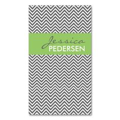 Trendy Green and Gray Chevron Business Cards. Make your own business card with this great design. All you need is to add your info to this template. Click the image to try it out! Gray Chevron, Elegant Business Cards, Make Your Own, How To Make, Red And Grey, All You Need Is, Things To Come, Template, Green