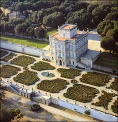 Rome - Villa Pamphili -   The park has an area of 1.8 km². It was bought in 1965–1971 by the City of Rome from the Doria-Pamphilj family.