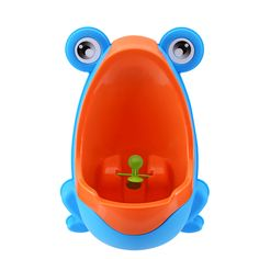 Buy Engaging & Fun - Colorful Frog Boys Potty Training Urinal with Whirling Target - Use a Baby Boy Urinal, Making It Fun, Easy Stress Free to Potty Train a Boy (blue) by MamaKids Potty Training Urinal, Toilet Training, Kids Potty, Baby Potty, Baby Toilet, Potty Trainer, Potty Seat