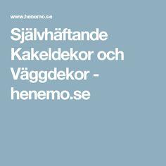 Självhäftande Kakeldekor och Väggdekor - henemo.se