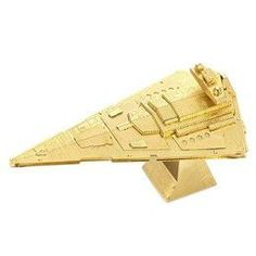 3D Metal Gold Model Puzzle StarWars Series