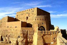 """Castle Narin Qal'eh-Meybod (Iran) """" The Middle East - Asia """""""