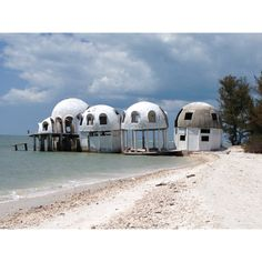Cape Romano Dome Homes accessible only by boat. Off The Hook Adventures offers sightseeing tours of Marco Island daily. Calusa Spirit - 239-389-4FUN