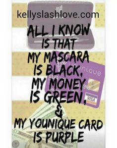 You can too! Ask me how! #mascara #bigbusiness