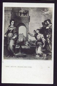 Annunciation del Sarto Christian Postcard Religious
