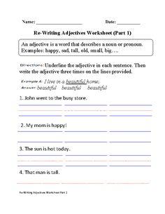 what kind adjectives worksheets teaching adjectives adverbs adjective worksheet english. Black Bedroom Furniture Sets. Home Design Ideas