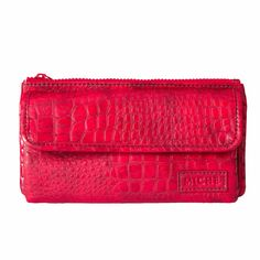 Soft Wallet (red croc) - Get her before she is gone!  https://faithandjoypurses.miche.com Facebook: www.facebook.com/FaithAndJoyPurses