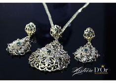 Ensemble Beldi Diamond Earrings, Jewelry, Moroccan Jewelry, Gold Jewelry, Kaftan, Ears, Boucle D'oreille, Locs, Womens Fashion