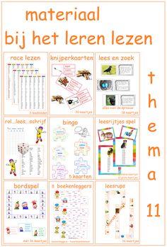 Thema 11 - Digibord Onderbouw Learn Dutch, Preschool, Bullet Journal, Writing, Learning, Books, Dyslexia, Livros, Libros