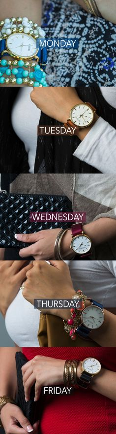 Stay fluid in fashion by keeping your watch game strong! #watches