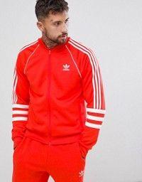 1806b6bcb8 adidas Originals Authentic Superstar Track Jacket In Black DJ2856. Survêtement  RougeVesteVeste ...