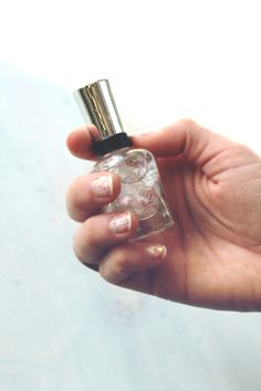 DIY Iridescent Nail Polish