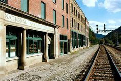 Thurmond, W.Va., a coal town from late 1800s, went from several hundred residents to seven by the year 2000