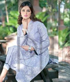 Plush Embroidered Kurtis Eid Collection by Riaz Arts EK_41