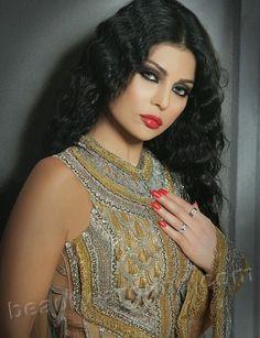 Haifa Wehbe most beautiful Lebanese actress and singer photo Beautiful Arab Women, Most Beautiful, Beautiful People, Haifa Wehbe, Black Hair Green Eyes, Green Hair, Olivia Von Halle, Sleepover Party, Egypt Girls