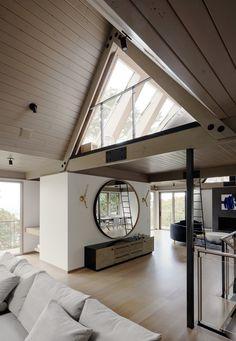 Twin Peaks Residence à San Francisco par Feldman Architecture - Haus Style At Home, Living Area, Living Spaces, Living Room, Interior Architecture, Interior Design, Architecture Journal, Room Interior, Trendy Home