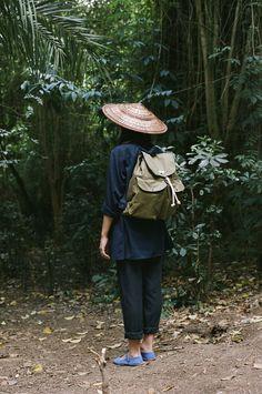 Ölend backpacks ISLA photographed by Claudia Garcia-Mauriño