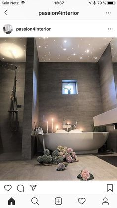 on Insta Web Viewer Posts Videos & Stories Cr Wohnen Badezimmer Romantic Bathrooms, Dream Bathrooms, Beautiful Bathrooms, Luxurious Bathrooms, Bathroom Interior Design, Decor Interior Design, Interior Decorating, Decorating Ideas, Toilette Design
