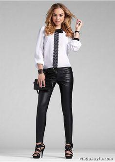 Sonraki Resim: Son Moda Bayan Deri Pantolon Modelleri 2014