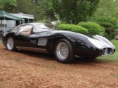 Maserati 450S Costin Zagato Coupe (1957).
