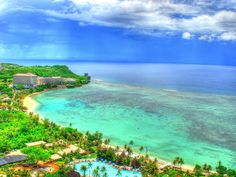 Guam ~ I had a friend who was born and raised in Guam...wonder where he is now...he had some wicked snake stories!