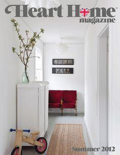 Heart Home magazine summer/2012 #decor #design #home #interior #quarterly #free