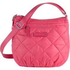 Vera Bradley Perfectly Puffy Crossbody Geranium Pink *** You can get additional details at the image link.