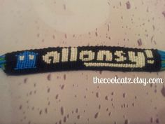 I just want to know how to put the tardis on a friendship bracelet. :)