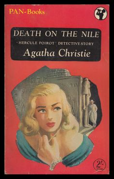 Death on the Nile - Agatha Christie. Pan paperback edition, 1951.