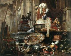 Pieter Boel - Vanité - peinture 1663