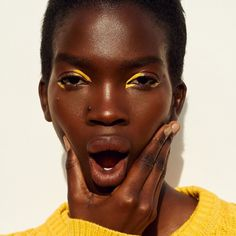 Model: Aamito Lagum Makeup: Tatiana Donaldson