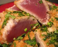 People will sail the seas in search of fish like this spiced tuna, but who will come to Oman to search for men & women who need to be captured by God's grace?
