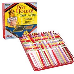 I had one of these and made lots of pot holders.