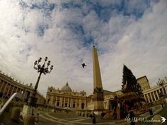 10 Things to do in Rome: St. Peter's Square, Vatican #italy #rome #gopro #goprohero3