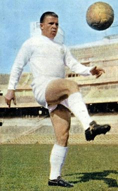Ferenc Puskas of Real Madrid in 1960.