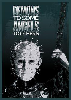 Pinhead ~ Horror Movie Icons by Mauro Appiani, via Behance
