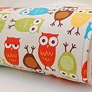 Owls Baby Blanket - bed linen & cot bedding