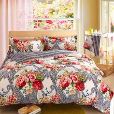 Baby Shower Ideas: Twin Bedding Sets For Adults Home Furniture Design King Size Bedding Comforters, Bedroom Comforter Sets, Down Comforter, Classic Bedroom Decor, Vintage Bedroom Styles, Vintage Bedroom Decor, Modern Bed Sheets, Diy Design, Luxury Sheets