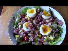 A dirty keto for the day. Egg Salad, Cobb Salad, Eggs For Baby, Bacon Egg, Keto Meal, Balsamic Vinegar, Lettuce, Meal Ideas, Keto Recipes